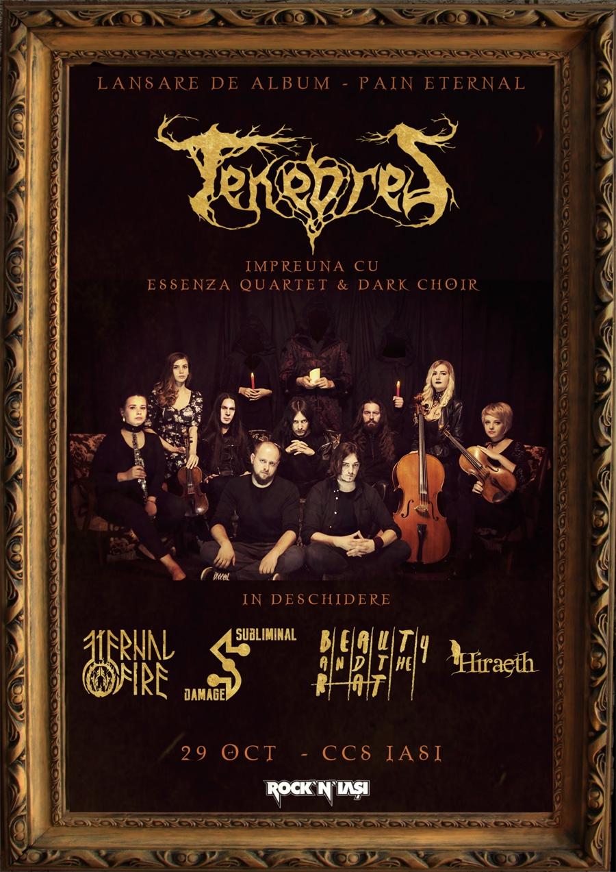 Trupa Tenebres lanseaza primul lor album - Pain Eternal