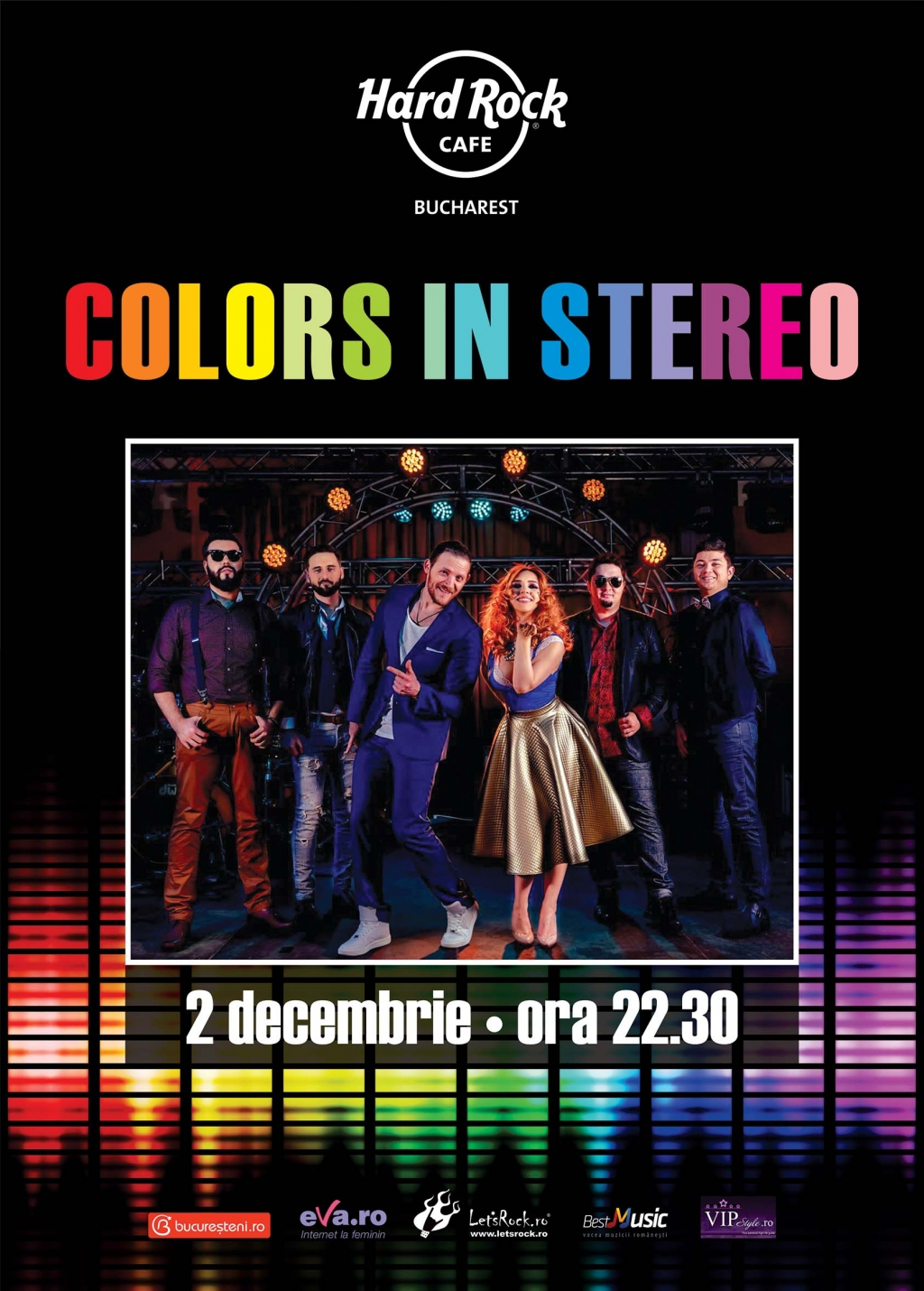 Concert Colors in Stereo la Hard Rock Cafe