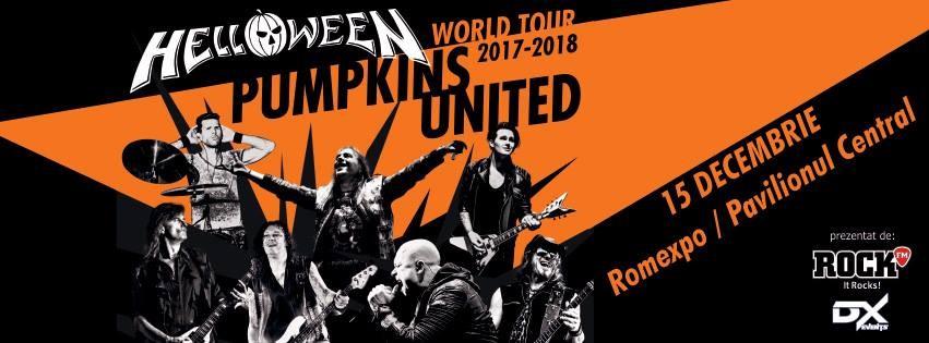 Concert Helloween la Bucuresti - biletele la Golden Circle aproape de epuizare