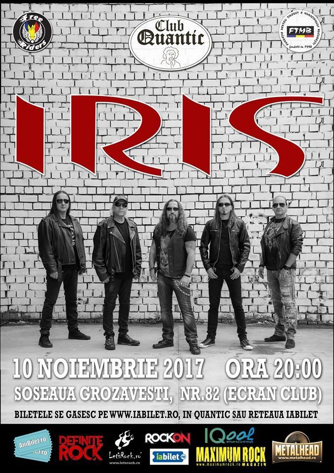 Concert Iris in club Quantic