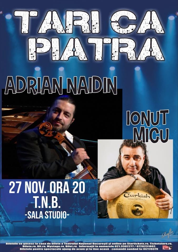 Violoncelistul Adrian Naidin revine in forta la Teatrul National din Bucuresti
