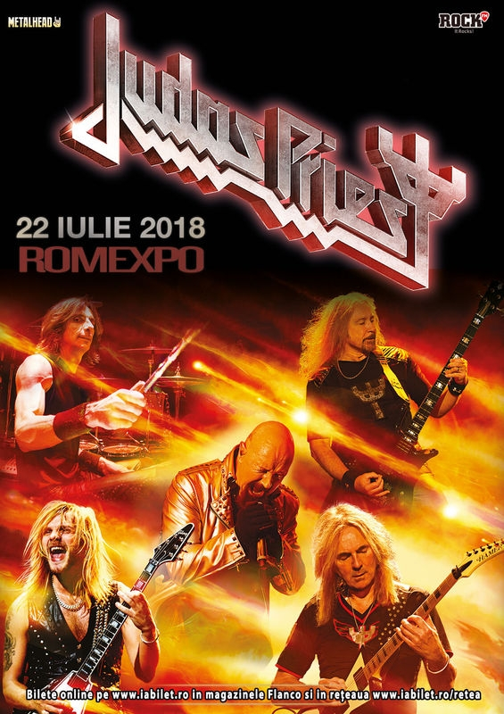 Concert Judas Priest - 'Firepower' la Romexpo din Bucuresti