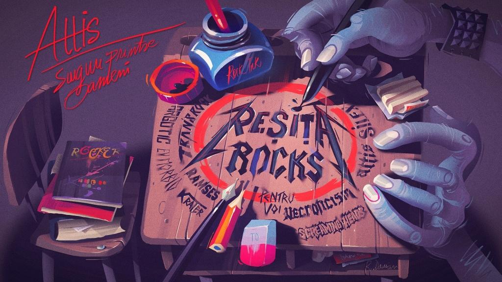 'Singuri printre oameni' este noul single Resita Rocks feat. Costin Adam