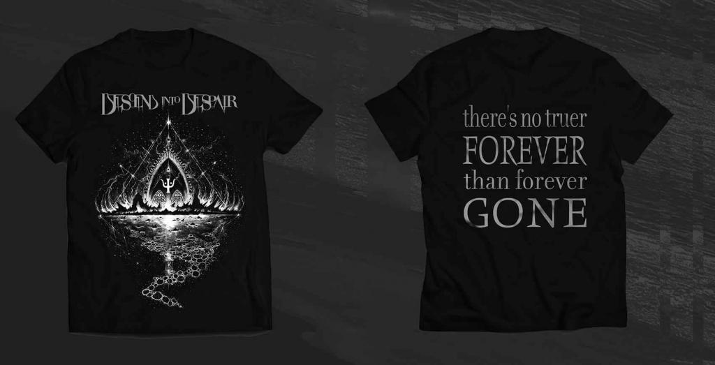 Descend into Despair lanseaza un nou model de tricouri
