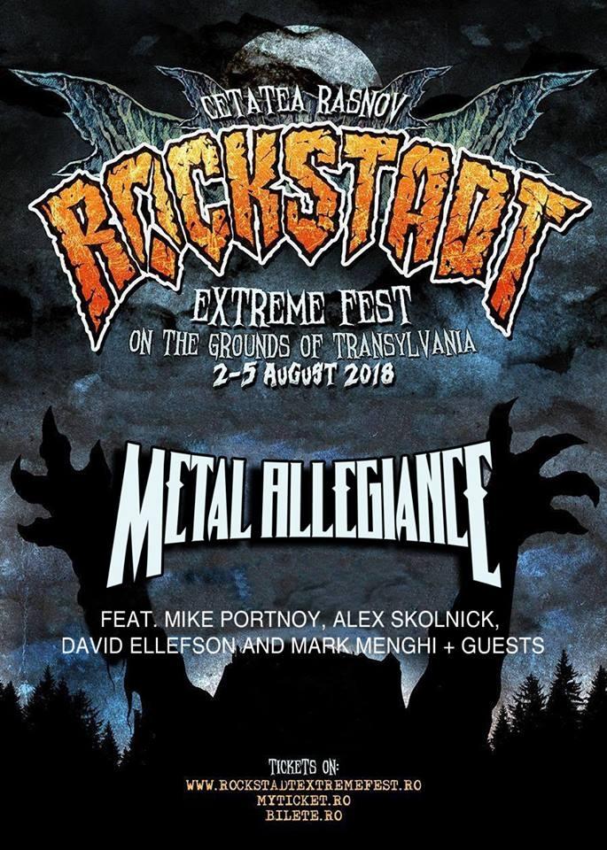 Metal Allegiance confirmati la Rockstadt Extreme Fest 2018