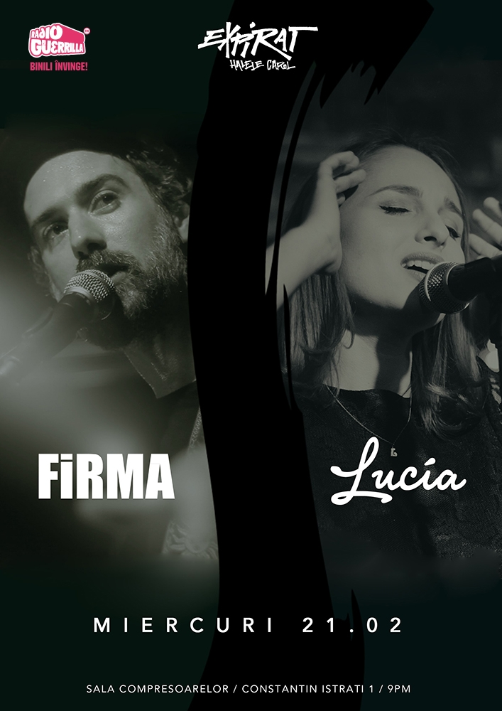 FiRMA readuce descantecele la Bucuresti cu un concert in club Expirat