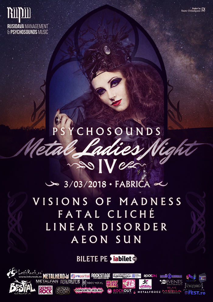 Psychosounds Metal Ladies Night IV in club Fabrica