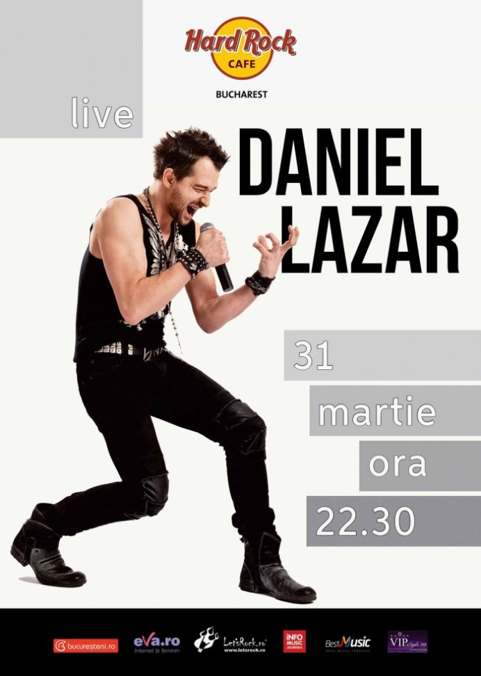 Concert Daniel Lazar in Hard Rock Cafe
