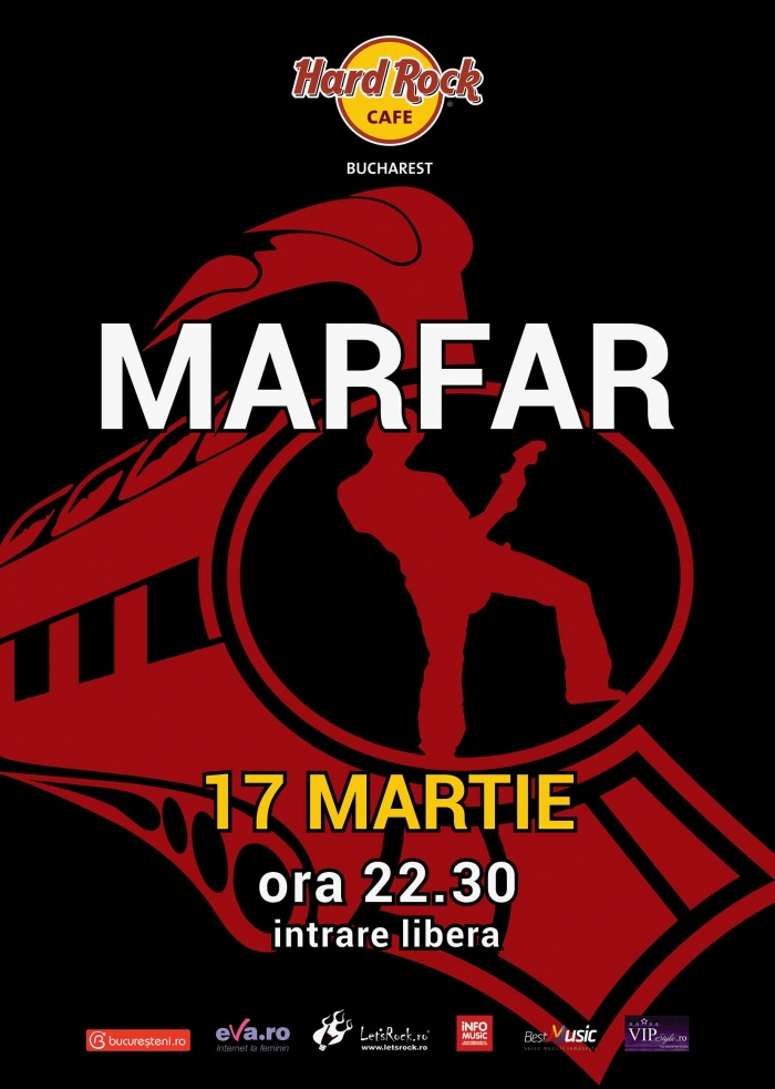 Concert Marfar la Hard Rock Cafe