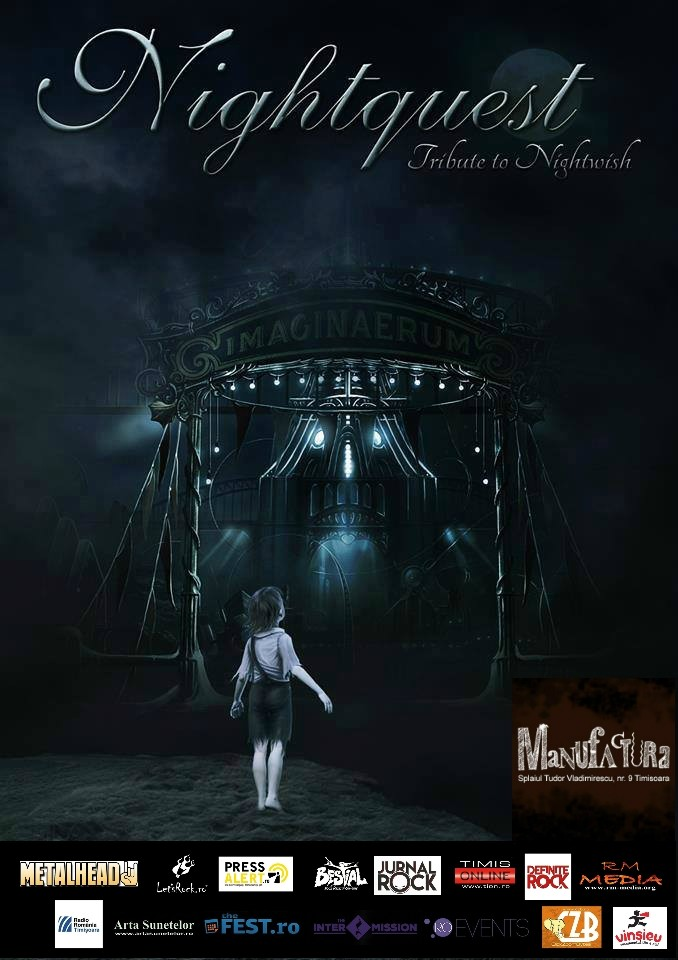 Concert Nightquest (Nightwish Tribute) in club Manufactura din Timisoara