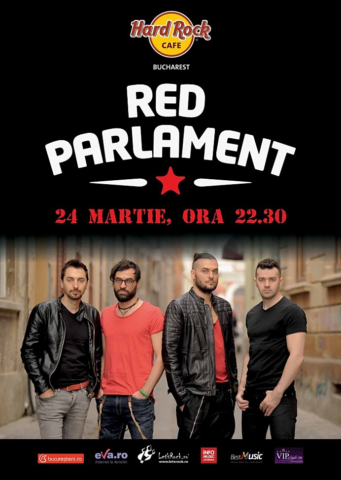 Concert Red Parlament in Hard Rock Cafe