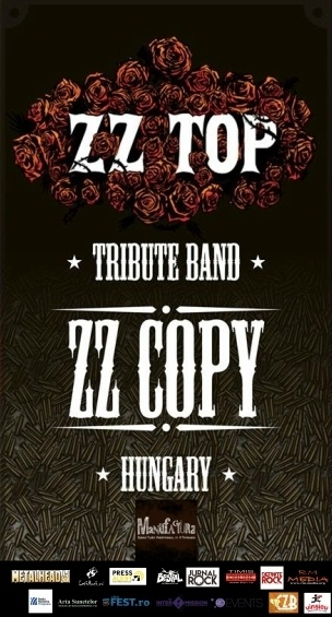 Concert tribut ZZ Top cu trupa ZZ Copy (HU) in club Manufactura
