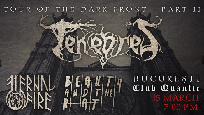 Trupa Tenebres lanseaza albumul Pain Eternal in Club Quantic, alaturi de Eternal Fire si Beauty and the Rat