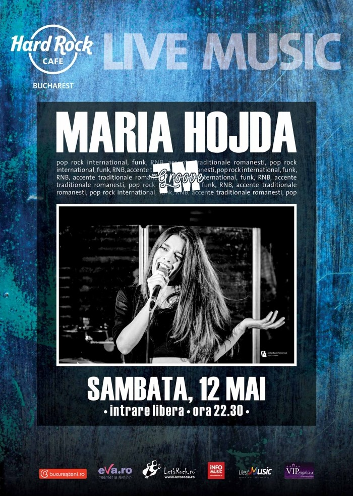 Concert Maria Hojda feat The TM Groove la Hard Rock Cafe