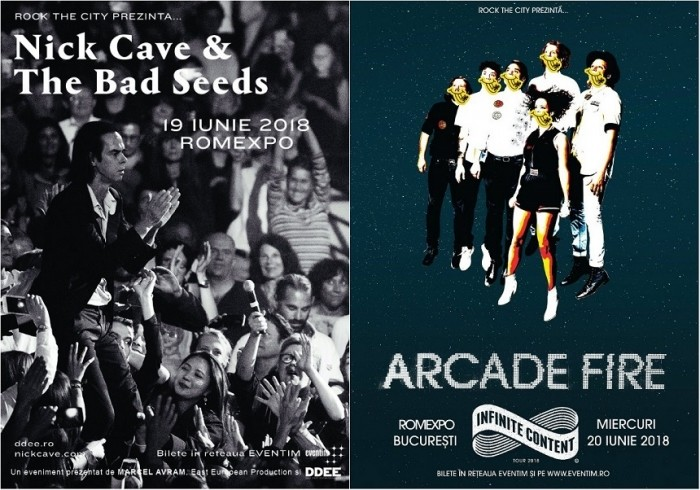 Reguli de acces si conduita la ROCK THE CITY 2018 - Nick Cave & The Bad Seeds si Arcade Fire