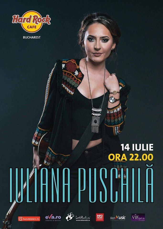 Concert Iuliana Puschila & Band la Hard Rock Cafe, București