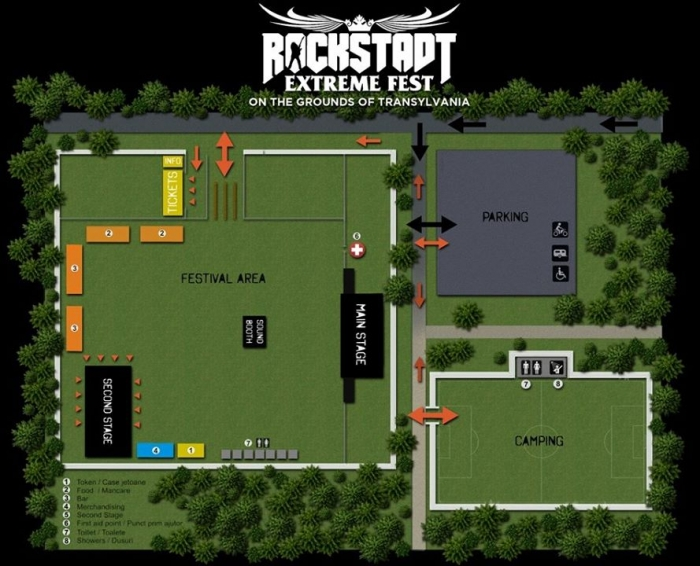Zona Camping 1 - Rockstadt Extreme Fest 2018