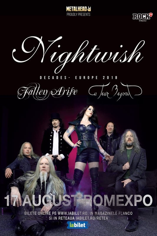 Turneul Nightwish ajunge si in Romania, la Romexpo