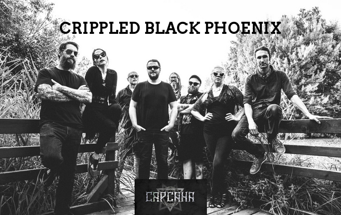 Super concert Crippled Black Phoenix in club Capcana din Timisoara
