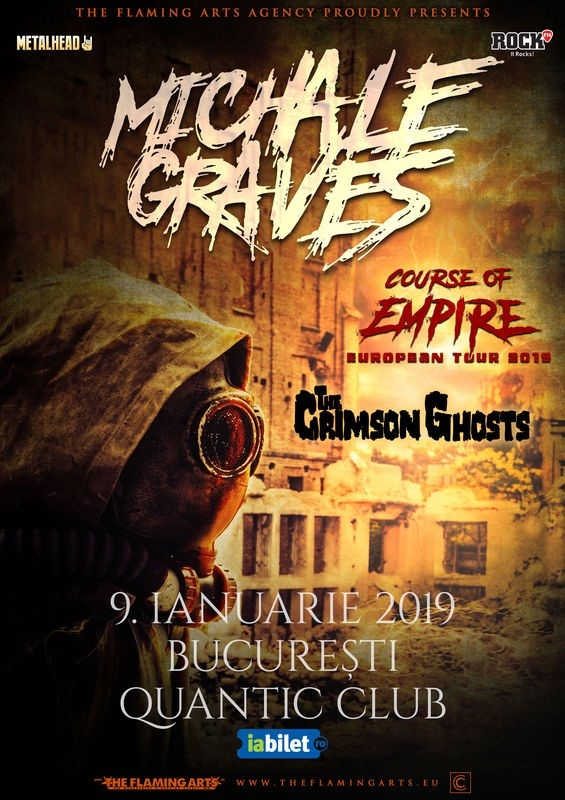 Michale Graves (ex Misfits) va sustine un concert in Club Quantic