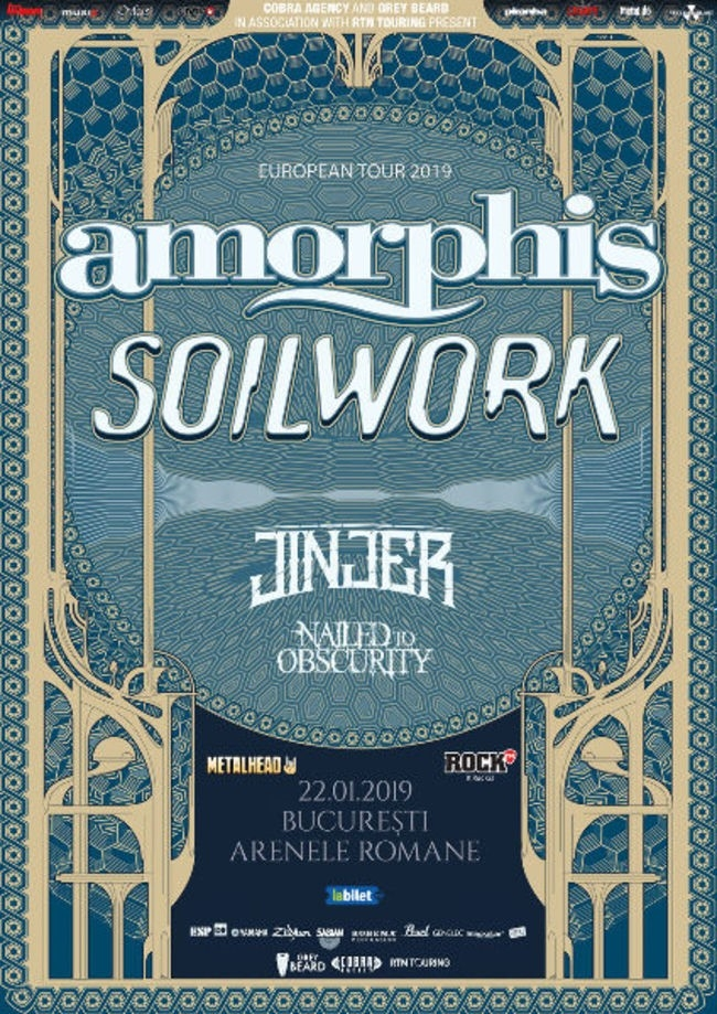 Concert Amorphis si Soilwork la Bucuresti: Program si reguli de acces