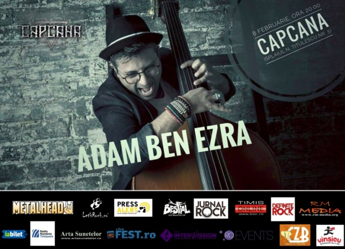 Concert extraordinar Adam Ben Ezra in club Capcana