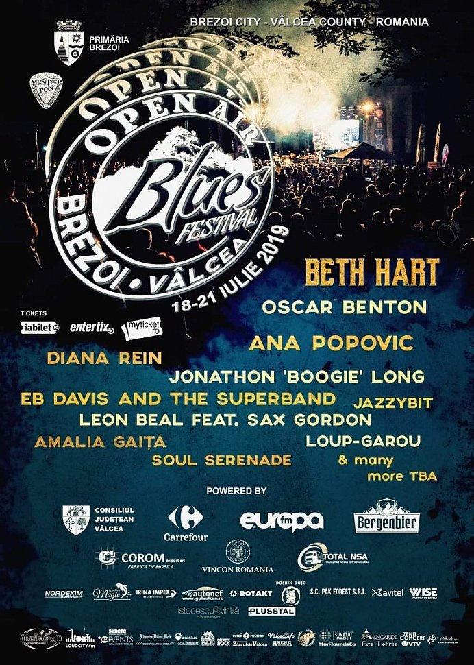 Open Air Blues Festival Brezoi 2019