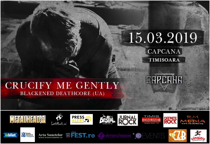 Concert Crucify Me Gently în Club Capcana, Timișoara