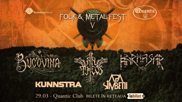 Folk & Metal Fest V în Club Quantic