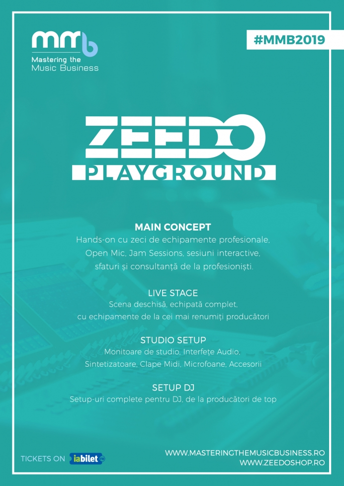 ZEEDO Playground la Mastering The Music Business