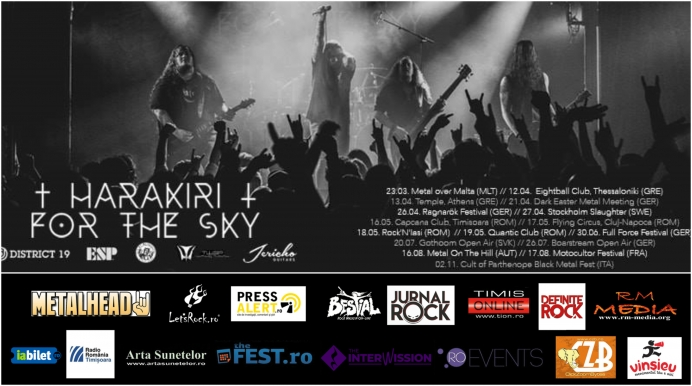 Concert Harakiri for the Sky si Magnetic in club Capcana din Timisoara