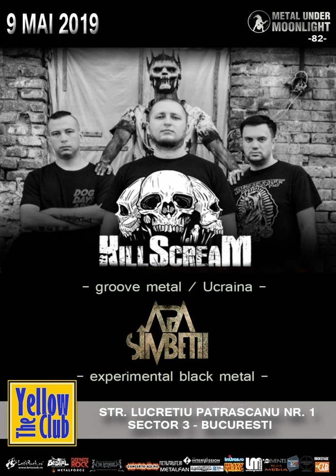 KILLSCREAM, Apa Simbetii (Metal Under Moonlight LXXXII, 09.05.2019)