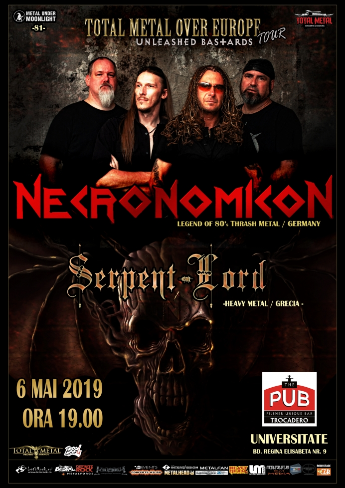 NECRONOMICON, Serpent Lord (Metal Under Moonlight LXXXI, 06.05.2019)