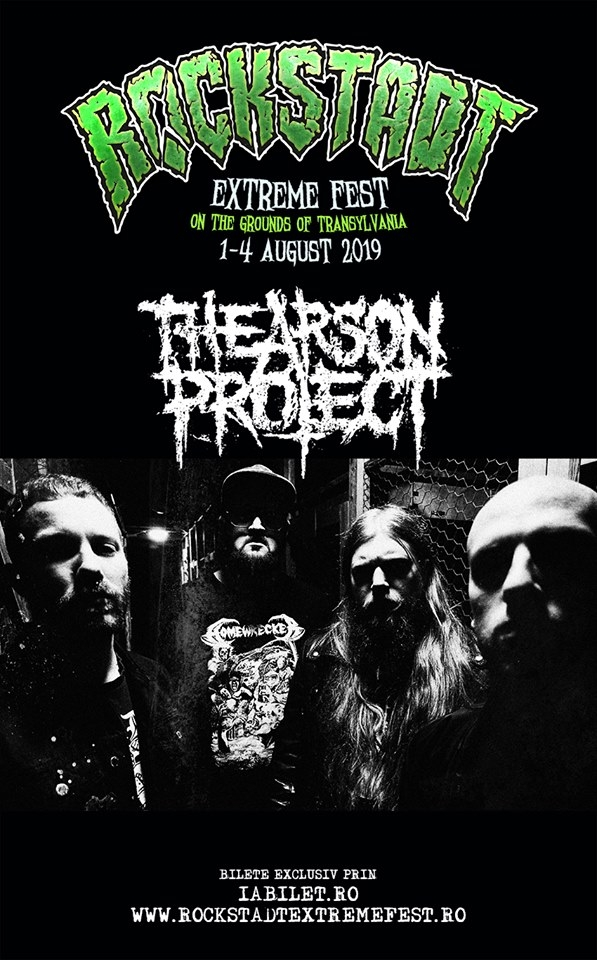 The Arson Project aduc stilul Grind Punk Hardcore Metal la REF 2019