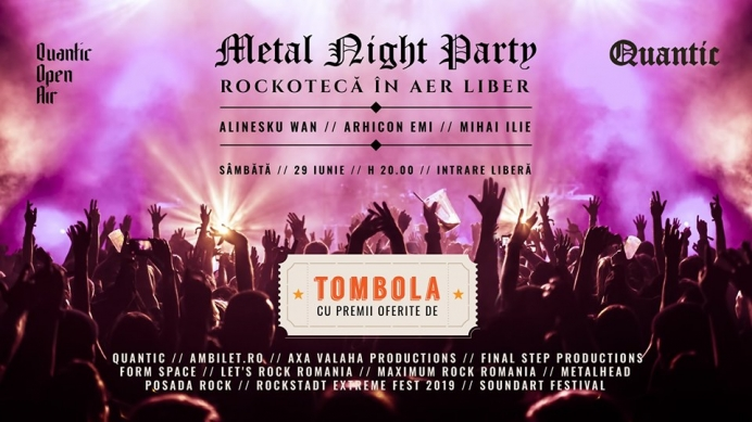 Tombola Metal Night Party in club Quantic