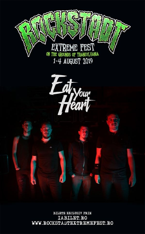 Trupa Eat Your Heart confirmata la Rockstadt Extreme Fest 2019