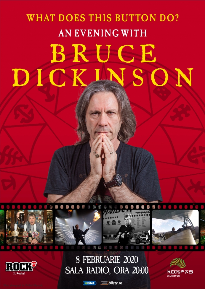 An evening with Bruce Dickinson - o primă categorie de bilete este sold-out