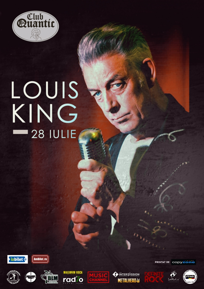 Concert Louis King - The King of the Rockin' Blues - la Club Quantic