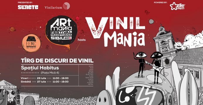 Vinil mania la East European Music Conference and Showcase Festival
