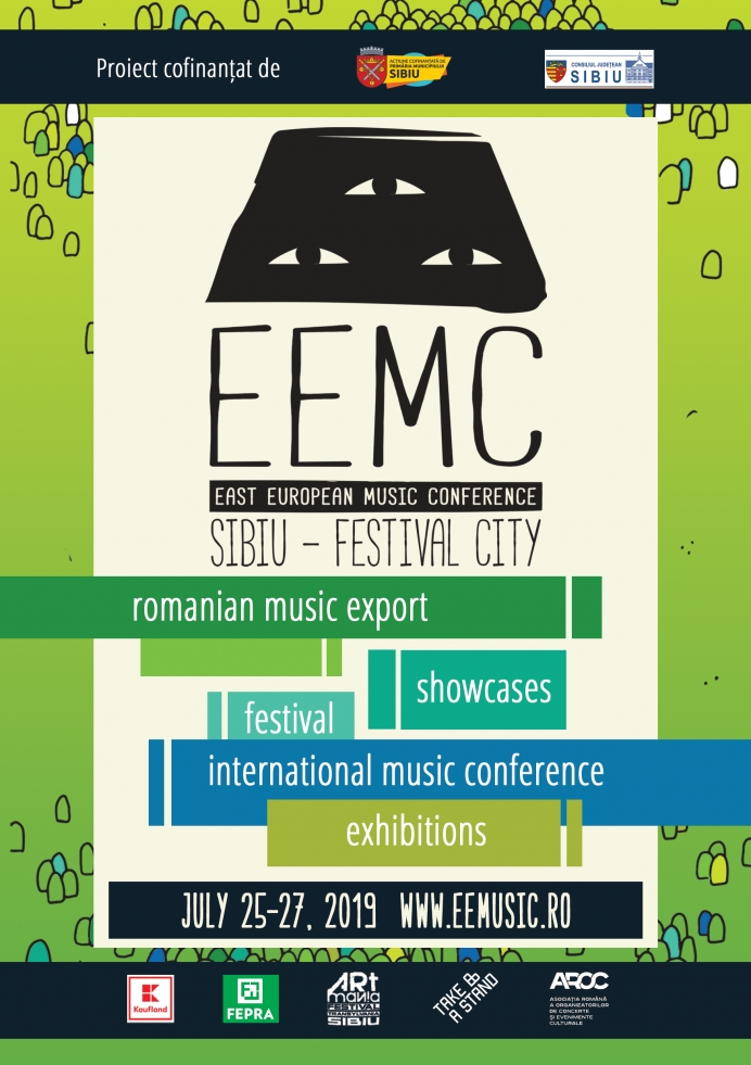 East European Music Conference and Showcase Festival la Sibiu
