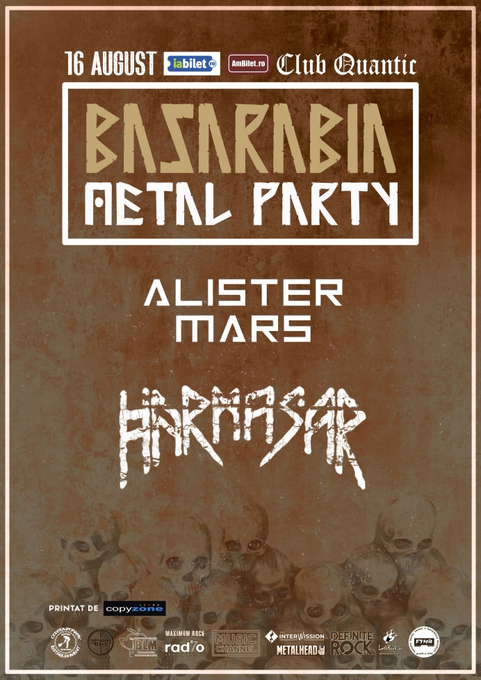 Basarabia Metal Party în Club Quantic - Harmasar și Alister Mars