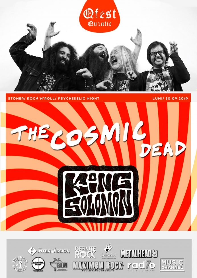 The Cosmic Dead și King Solomon la Qfest 2019 ziua I în Club Quantic