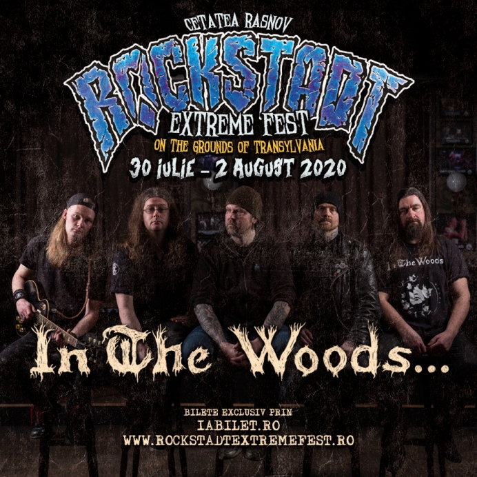 Trupa In The Woods... este confirmată la Rockstadt Extreme Fest 2020