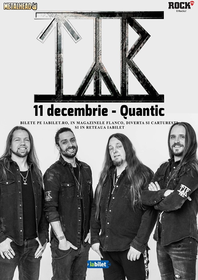 Concert TYR in club Quantic