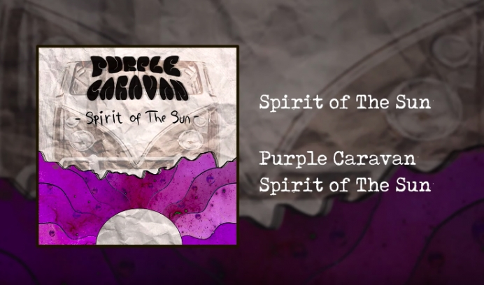 Purple Caravan lansează albumul de debut - Spirit of The Sun