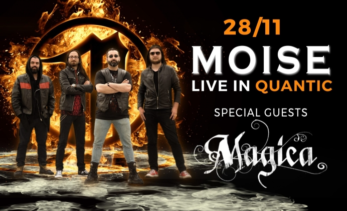 Concert Moise si Magica in club Quantic