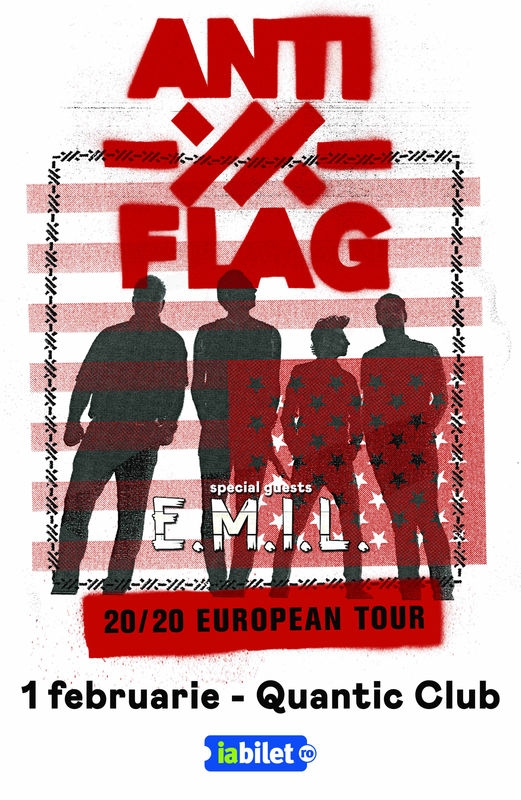 Concert Anti-Flag și E.M.I.L. în Club Quantic