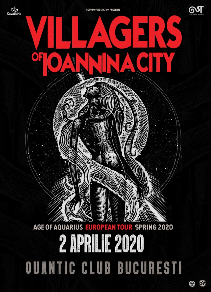 SoundArt va invita la Villagers Of Ioannina City in club Quantic
