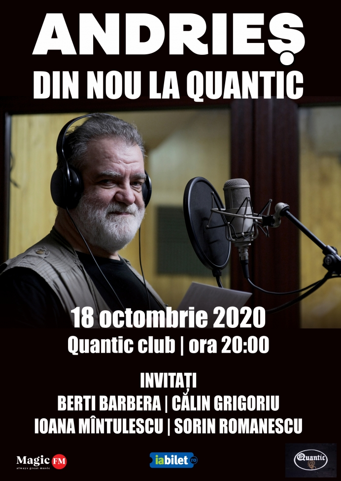 Concert Alexandru Andries in Quantic Club