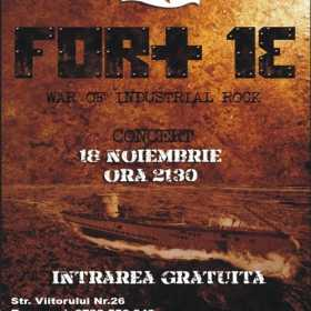 War of Industrial Rock cu Fort 13 in club El Grande Comandante